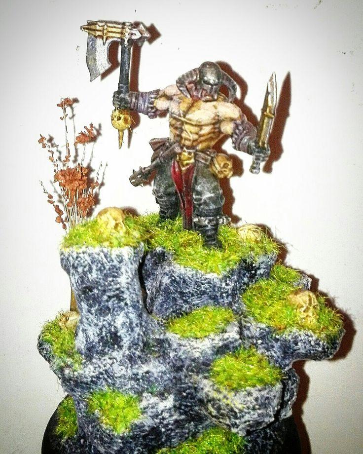 Warhammer - Barbarian.