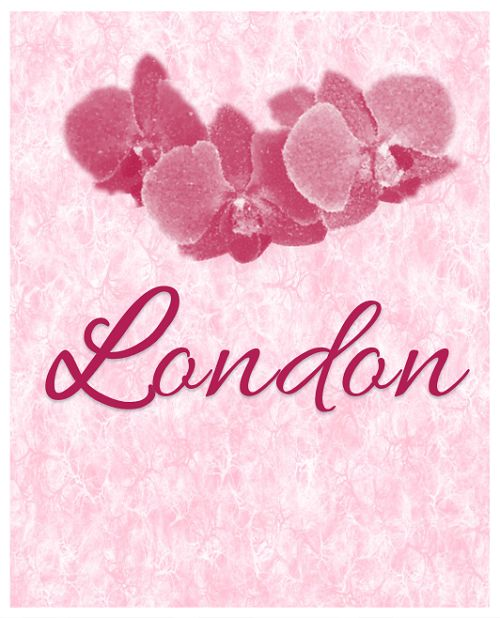 The name London works for a baby boy or a baby girl. Personally, I prefer it as a girl's name. Pair it with a unique middle name. Names with two syllables work best with monosyllabic or multisyllabic middle names than they do with other disyllabic names. For optimal rhythm, avoid pairing names that contain the same number of syllables.