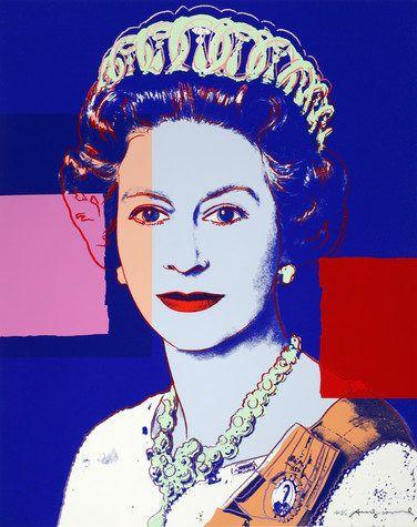 "Andy Warhol, ""Reigning Queens: Queen Elizabeth II of the United Kingdom"", 1985"