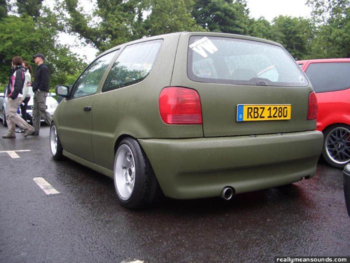 vw matte | Natogreen16v's Volkswagen Polo (1997)