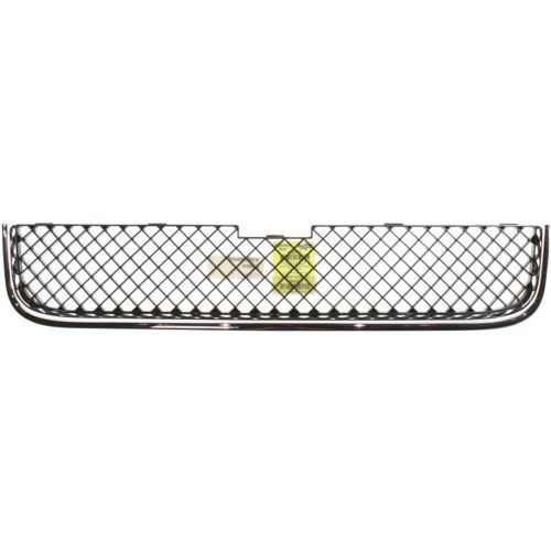 2005-2009 Chevy Uplander Lower Grille, Chrome Shell/ Dark Gray