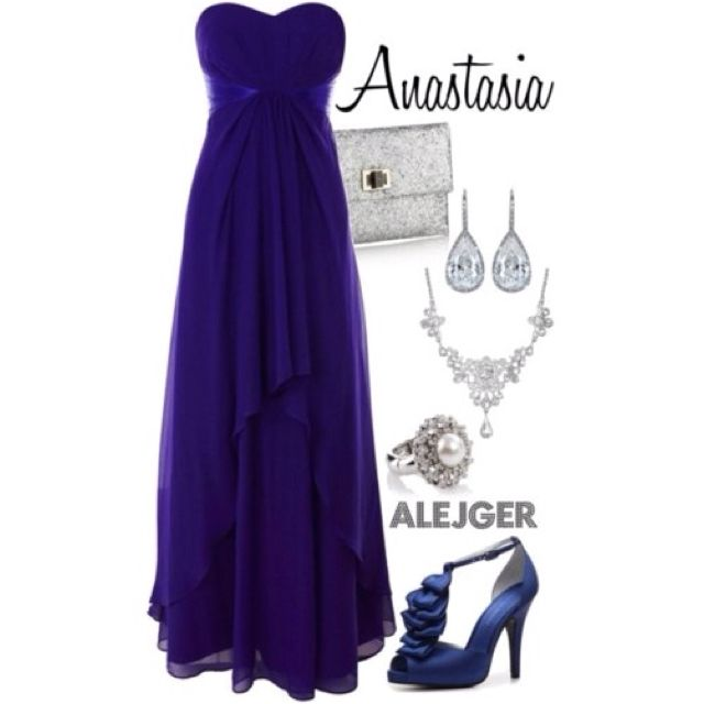 Anastasia for prom - No she's not a Disney princess but she almost is :)