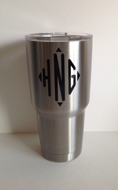 Personalized YETI Rambler Tumblers by Meraki Designs on Etsy
