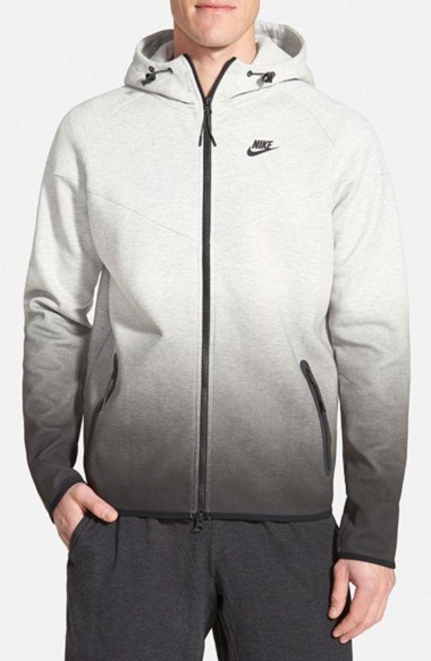 Men's Nike 'Tech Windrunner Fade' Zip Hoodie,