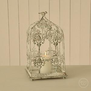 Vintage Wedding Table Decoration Centrepiece Filigree Bird Cage Candle Holder | eBay