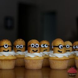 Minion Twinkie Cupcakes from Despicable Me