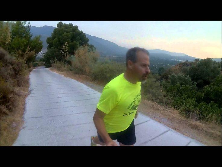 Climbing the Cero Negro in Orgiva Spain