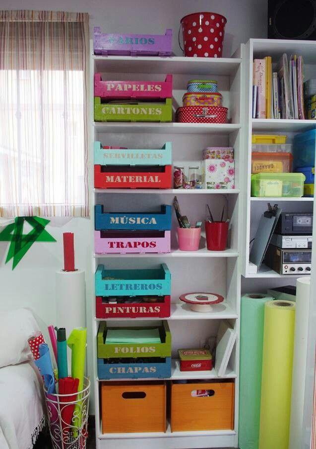Las 25 mejores ideas sobre organizar un desorden de - Ideas para organizar papeles en casa ...