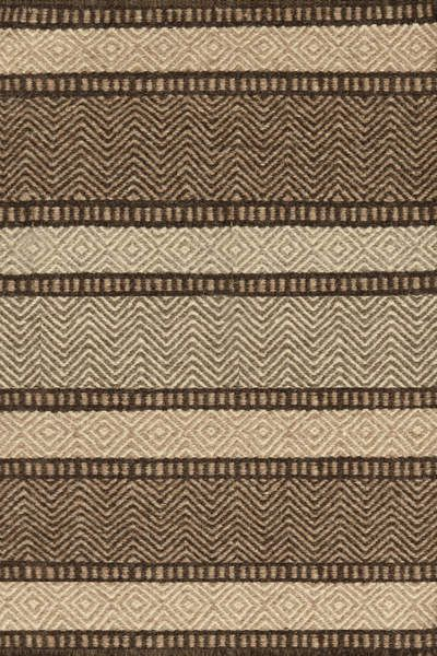 #DashAndAlbert Scandia Wool Woven #Rug. We dig the subtle graphic quality of this durable woven wool, in varying shades of sand, smoke, and chocolate.