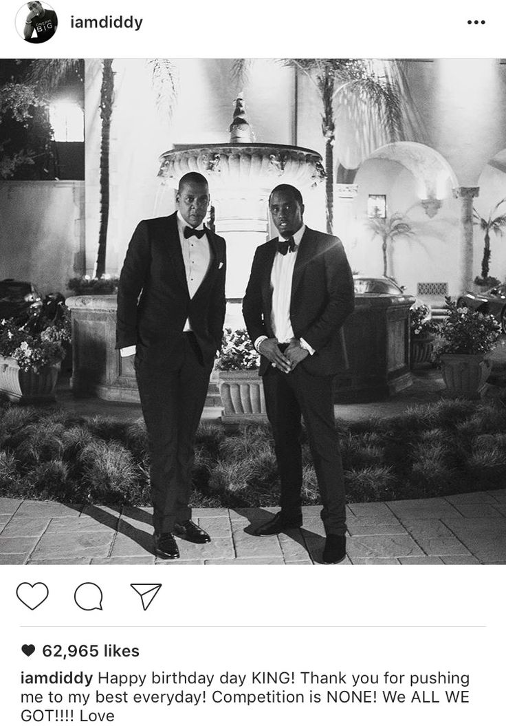 Shawn Carter and Sean Combs #timeless 2016
