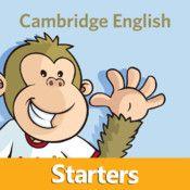 Cambridge English: Starters. App amb un examen de pràctica starters cambridge