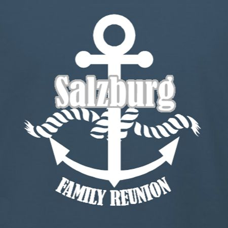 Nautical Themed Family Reunion custom t-shirt template. Add your family name in our online custom t-shirt design studio. Choose your apparel product, sizes, and quantity in checkout. Make your boat, cruise, or seaside family reunion unforgettable.