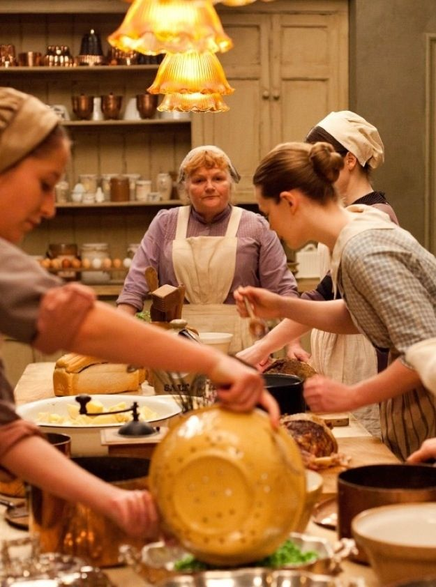 How To Throw A Historically Accurate Downton Abbey Dinner Party, ahem @Margaret Crabtree @Sandra Blackwell shall we try another?: