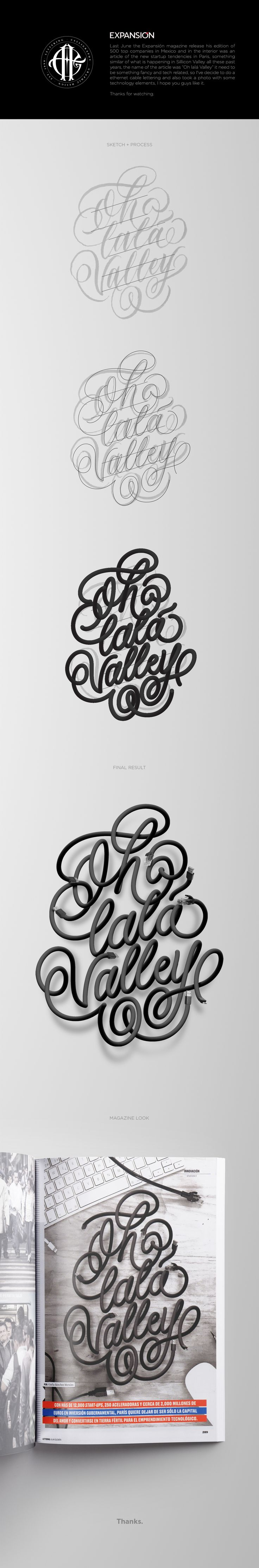 Oh lalá Valley on Behance