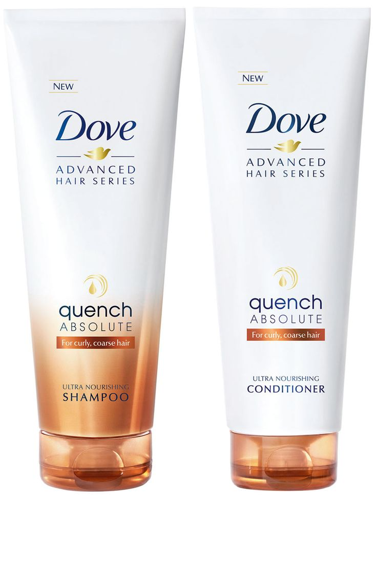 Dove Quench Absolute Shampoo and Conditioner for Dry, Coarse & Curly Hair #haircare #hair #dove