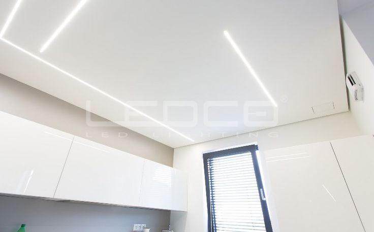 Minimalistický dizajn a LED líniové osvetlenie   LEDCO