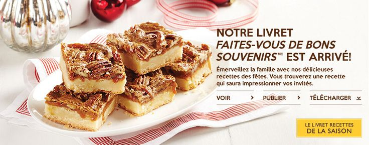 Automne Livrets de recette 2014- Find yummy recipes in the latest Robin Hood Recipe Booklet
