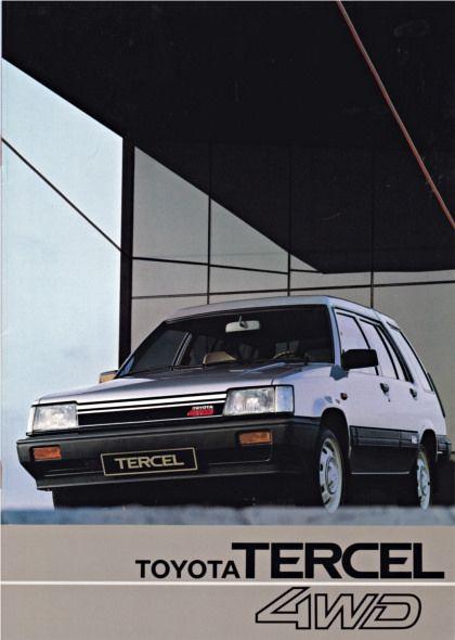 Toyota Tercel 4WD brochure 03-1983 | by sjoerd.wijsman