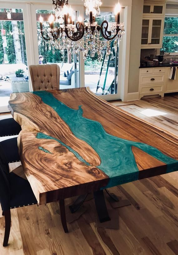 This Listing Is For A Custom Live Edge Conference Table Dining