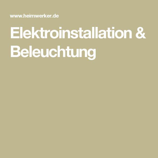 Fresh Elektroinstallation u Beleuchtung