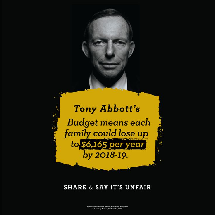 The Coalition continue their War on Australians In the meantime their wealthy donor and Corporation mates laugh all the way to the bank. 2015 Budget : lies are  exposed. Photo by Australian Labor Party