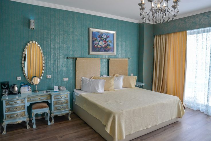 These warm colours offers a perfect relax and also a maximum of comfort! Matrimonial suite at Phoenicia Luxury Hotel 4*
