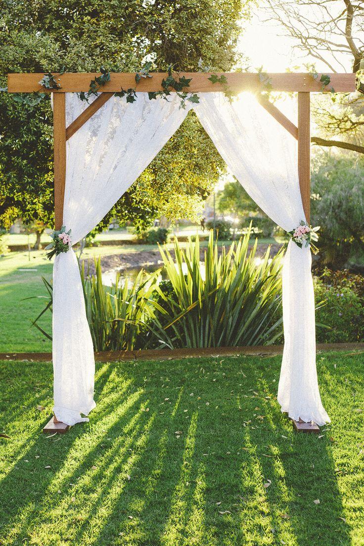 Wedding Arbor - Lace Curtains