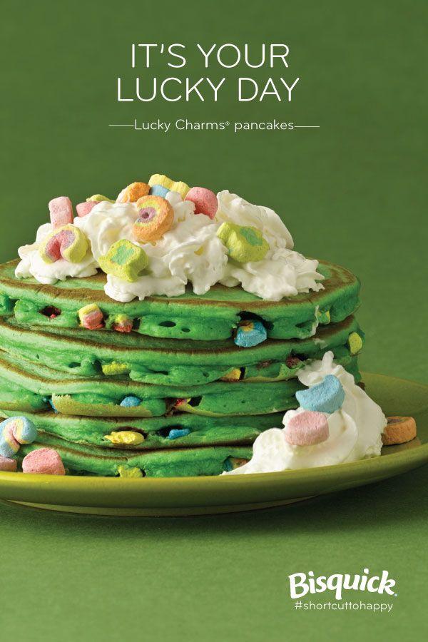 Top o' the Mornin Lucky Charms® Pancakes
