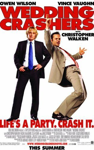 Directed by David Dobkin.  With Owen Wilson, Vince Vaughn, Rachel McAdams, Christopher Walken. John Beckwith and Jeremy Grey, a pair of committed womanizers who sneak into weddings to take advantage of the romantic tinge in the air, find themselves at odds with one another when John meets and falls for Claire Cleary.