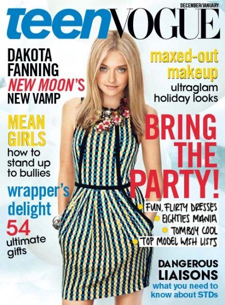 Dakota Fanning December/January 2010