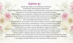 Salmo 91   Bíblia Online