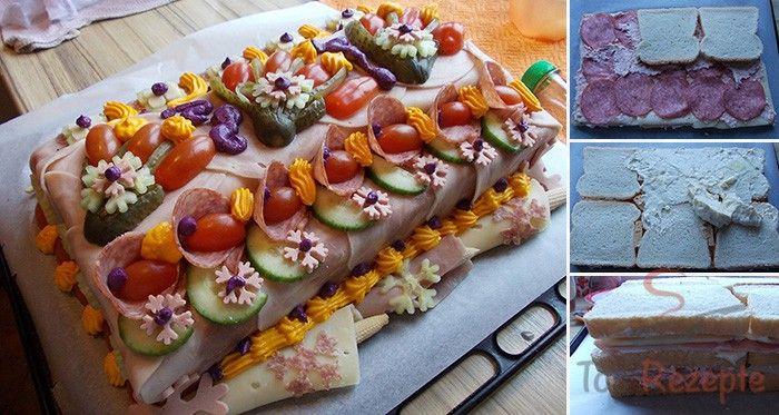 Herzhafte Torte Mit Fotoanleitung Von Einem Fan Rezept In 2019