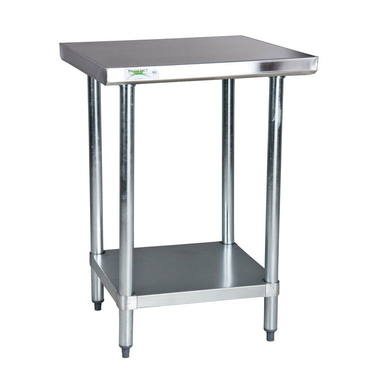 Regency 18 Gauge 304 Stainless Steel Commercial Work Table - 24 inch x 36 inch with Undershelf 130 with shipping :/