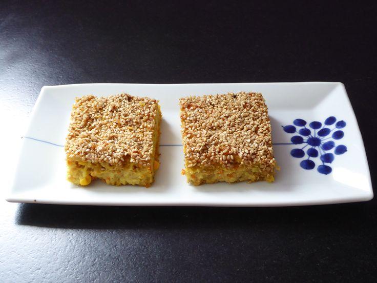 Etwas praktisch und lecker mit zu nehmen auf Reisen oder für Picknicks (http://www.karai.de/rezepte/vorspeise/210-handvo-indische-kuchen-mit-reis-linsen-und-gemuese)