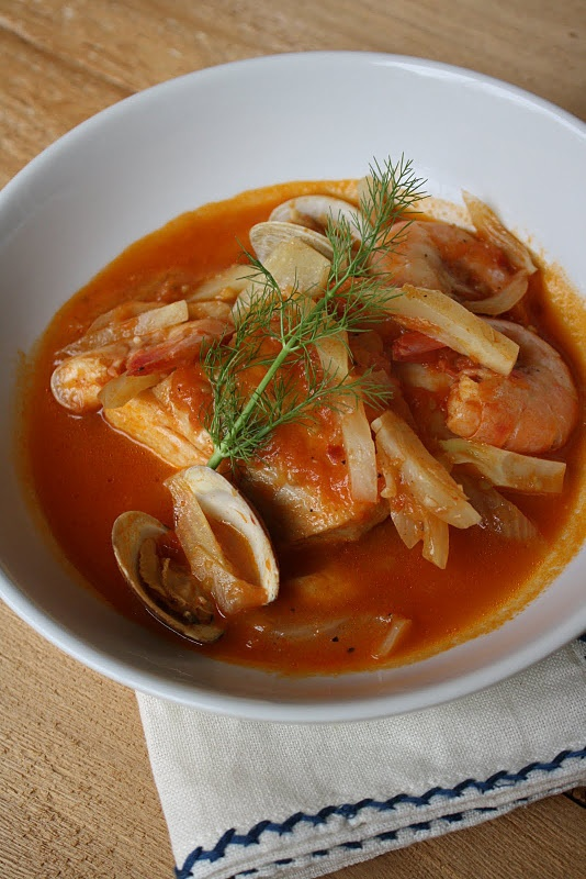 Fish Stew with Fennel and Harissa | recipes seafood ...