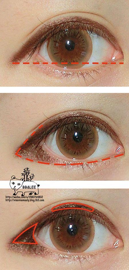 Puppy Eye Makeup Google Search Koreanmakeup Makeup Makeup