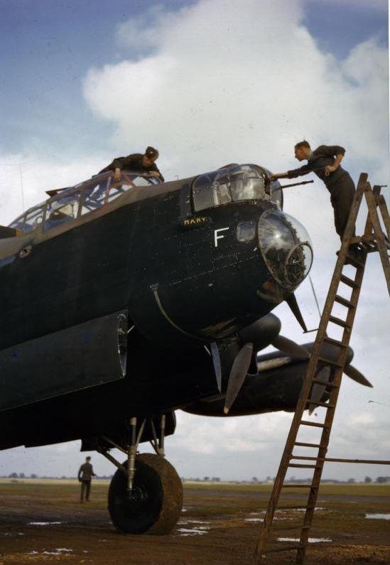 Lancaster in 1942