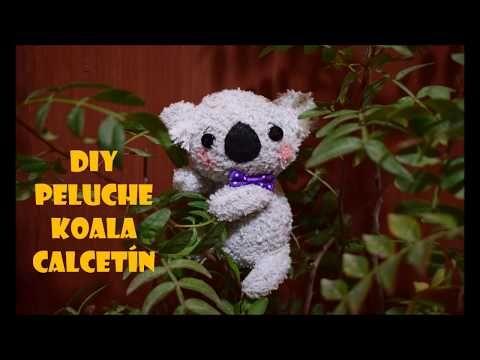 koala calcetín - YouTube