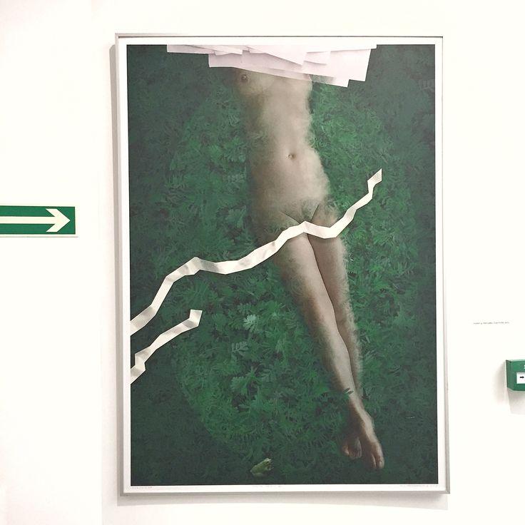 """Waldemar Marszałek """"Księżniczka"""" 2012; wystawa """"Akermann, Gorlak, Marszałek, Witkowski"""" w Państwowej Galerii Sztuki w Sopocie (14.11.-13.12.2015) #marszalek #waldemarmarszalek #pgssopot #exhibition #painting #art #artgallery #sopot"""