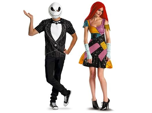 halloween couple costumes for 2013 feature scary classics such as vampires and ghosts plus gag - Couple Halloween Costumes Scary