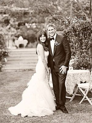 Australian celebrity chef Curtis Stone and American TV actress and singer Lindsay Price were married June 8, 2013.