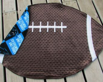 Oklahoma University Football Baby Blanket with by LovePitterPatter