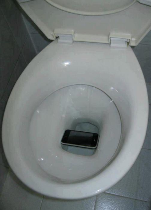 Обладателю этого телефона очень сильно повезло.