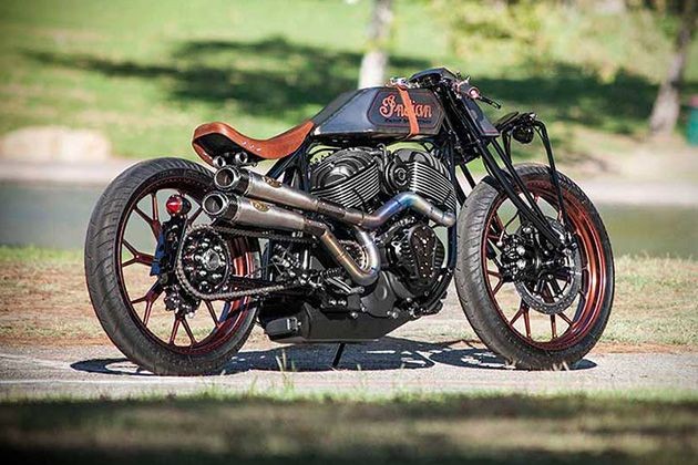 Indian Track Chief By Roland Sands Design 4 Motorcycle