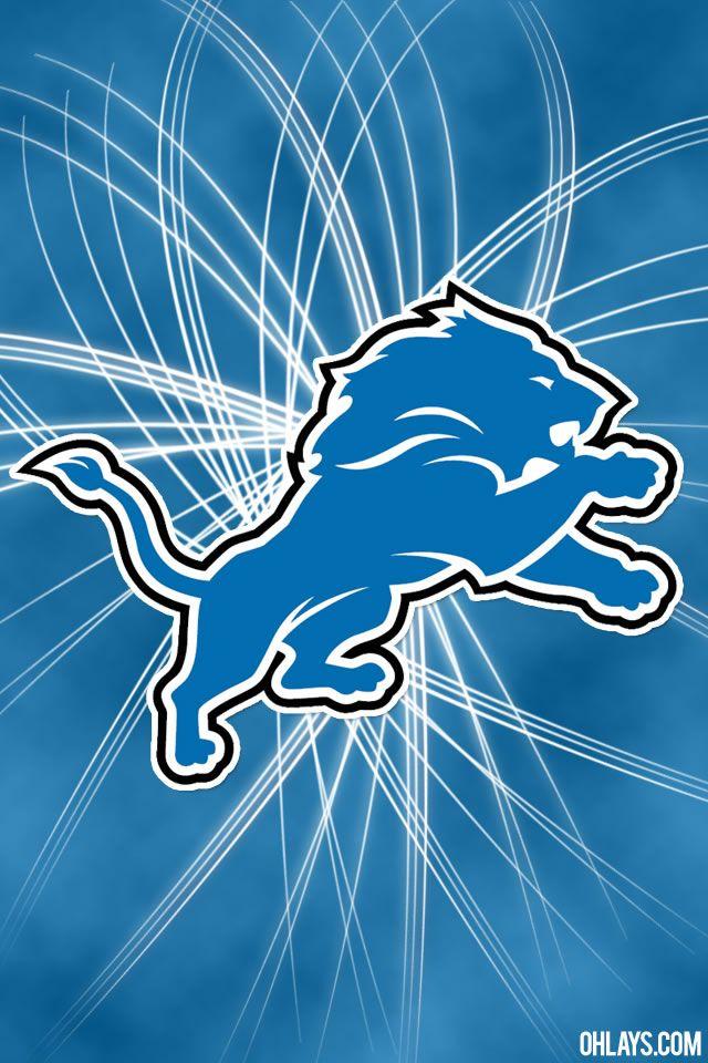 Detroit Lions New Logo   Detroit Lions iPhone Wallpaper   #5610   ohLays
