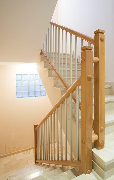 19 best images about barandillas interiores de madera on - Barandillas de madera para interior ...