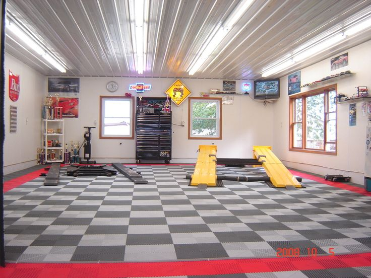Garage Lighting Ideas   When You Think Of Household Garages, You Donu0027t  Think Of Light, Airy, And Spacious Locations.