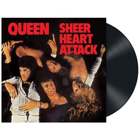 """L'album dei #Queen intitolato """"Sheer Heart Attack"""" in edizione limitata rimasterizzata su vinile nero 180 gr."""