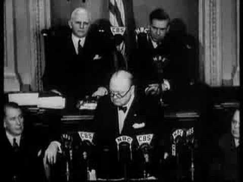 Winston Churchill 'Now we are Masters of Our Fate' Speech - YouTube