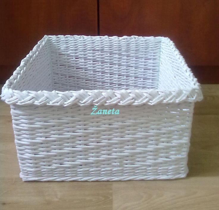 krabice bílá